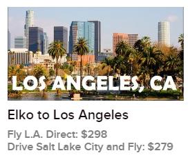 Elko To LA